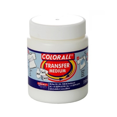 Collall Transfer Medium melkwit 250ml COLTF250