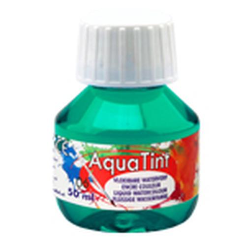Collall AquaTint - vloeibare waterverf turkooisblauw 50ml COLAQ05006