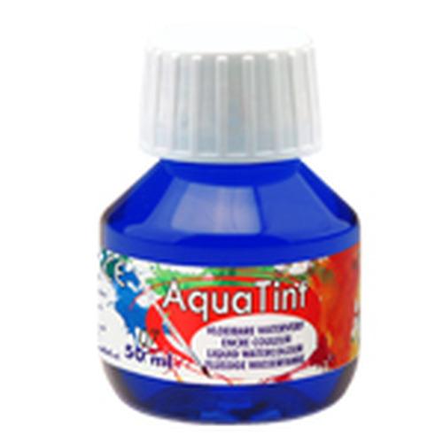 Collall AquaTint - vloeibare waterverf ultramarijn 50ml COLAQ05007