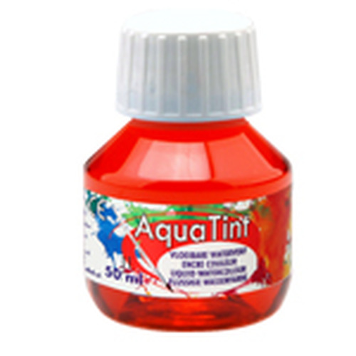 Collall AquaTint - vloeibare waterverf lichtrood 50ml COLAQ05011