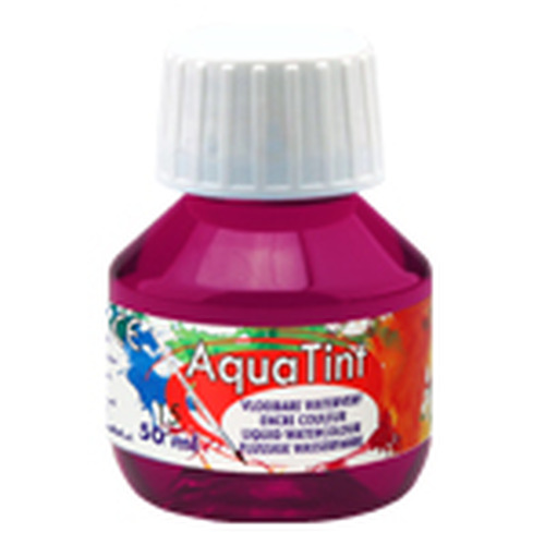 Collall AquaTint - vloeibare waterverf kers 50ml COLAQ05015