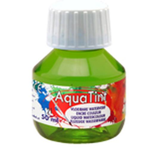 Collall AquaTint - vloeibare waterverf lichtgroen 50ml COLAQ05016