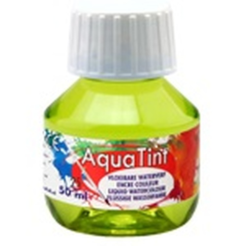 Collall AquaTint - vloeibare waterverf pastelgroen 50ml COLAQ05022