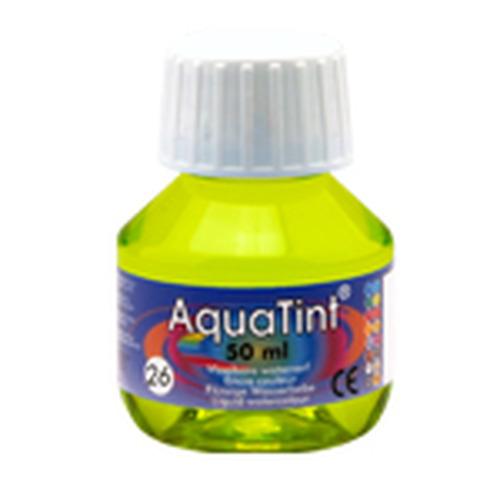 Collall AquaTint - vloeibare waterverf lentegroen 50ml COLAQ05026