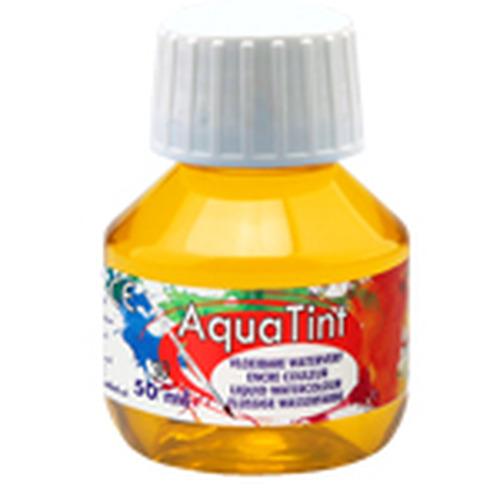 Collall AquaTint - vloeibare waterverf geel 50ml COLAQ05030