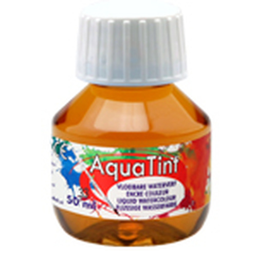 Collall AquaTint - vloeibare waterverf oker 50ml COLAQ05033