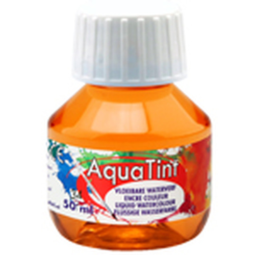 Collall AquaTint - vloeibare waterverf kurkuma 50ml COLAQ05034