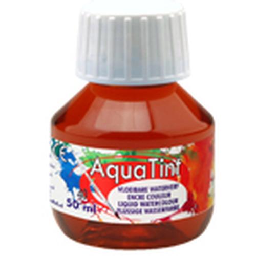 Collall AquaTint - vloeibare waterverf bruin 50ml COLAQ05040