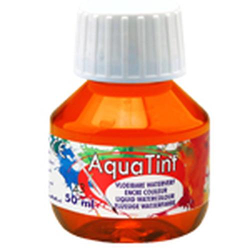 Collall AquaTint - vloeibare waterverf sienna 50ml COLAQ05043
