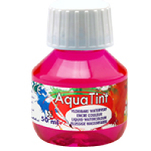Collall AquaTint - vloeibare waterverf magenta 50ml COLAQ05053