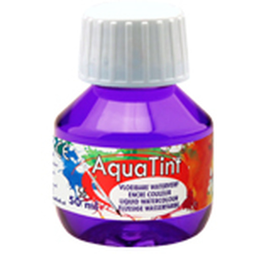 Collall AquaTint - vloeibare waterverf paars 50ml COLAQ05056