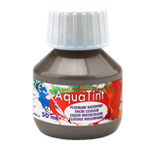 Collall AquaTint - vloeibare waterverf muisgrijs 50ml COLAQ05061