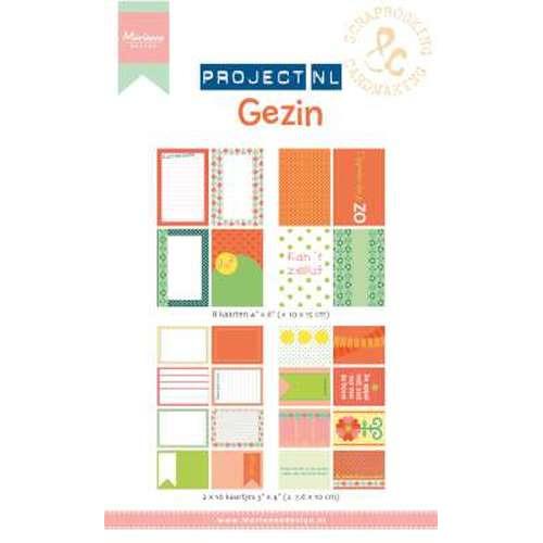 Marianne D Card set Project NL - Gezin  PL2502 (New 06-15)