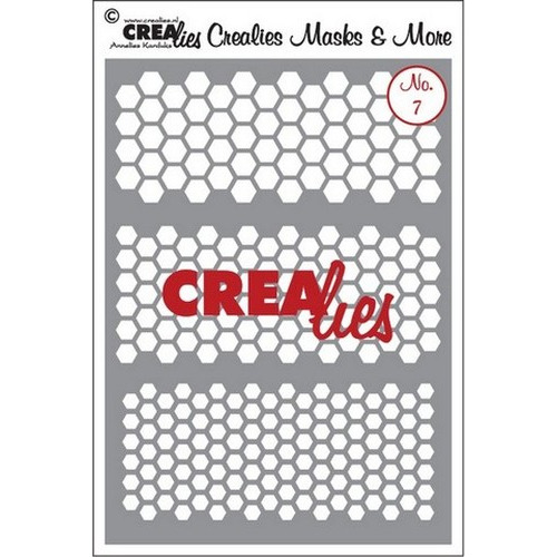 Crealies Masks & More no. 7 (plastic) CLMM07