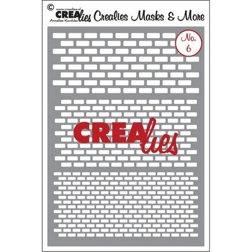 Crealies Masks & More no. 6 (plastic) CLMM06