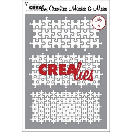 Crealies Masks & More no. 5 (plastic) CLMM05