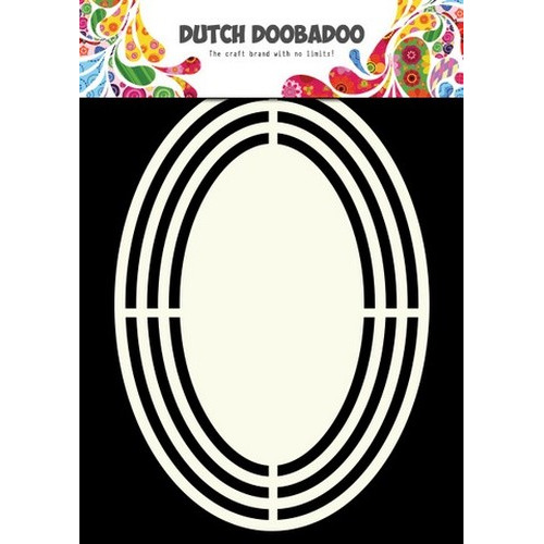 Dutch Doobadoo Dutch Shape Art frames ovaal A5 - 470.713.120 (new 06-2015)