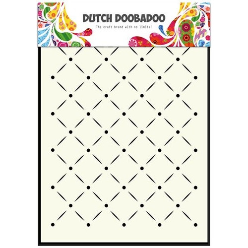 Dutch Doobadoo Dutch Mask Art stencil strepen en stippen A5 - 470.715.041 (new 06-15)