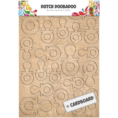 Dutch Doobadoo Dutch Cardboard art fopspeen A5 472.309.011 (new 06-2015)