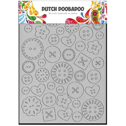Dutch Doobadoo Dutch Greyboard knopen A6 492.002.003 (new 06-2015)
