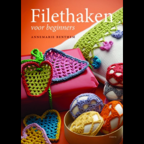 1 ST (1 ST) Boek Filet haken Benthem