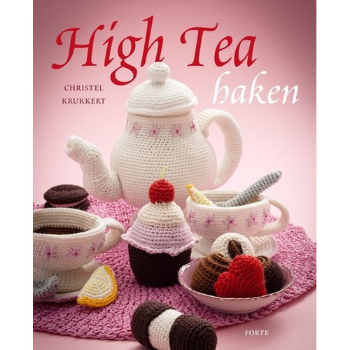 1 ST (1 ST) Boek High Tea haken Krukkert