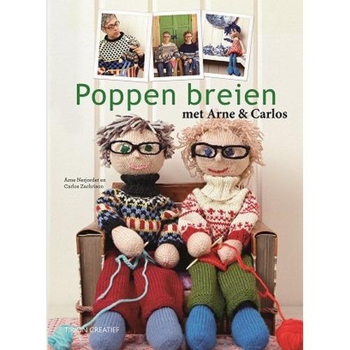 Kosmos Boek Arne & Carlos Poppen breien (NL) Nerjordet/Zachrison