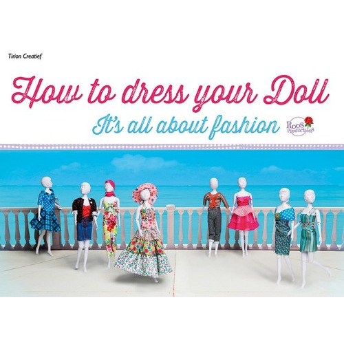 Kosmos Boek How to dress your doll 7-tm 13 jr. Roos Production
