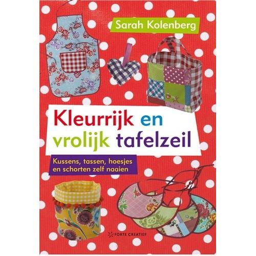 Forte Boek Kleurrijk en vrolijk tafelzeil Kolenberg (NEW 01-14)