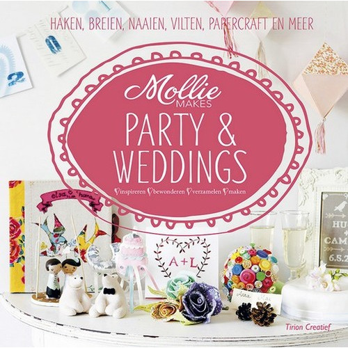 Kosmos Boek Mollie makes Party & Weddings Mollie Makes team