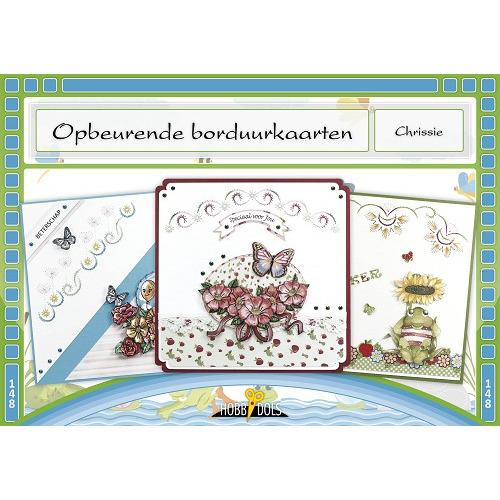 Hobbydols 148 - Opbeurende borduurkaarten