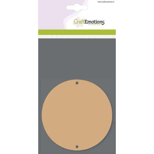 CraftEmotions MDF basisvormen cirkel (3 st) 10cm x 3mm