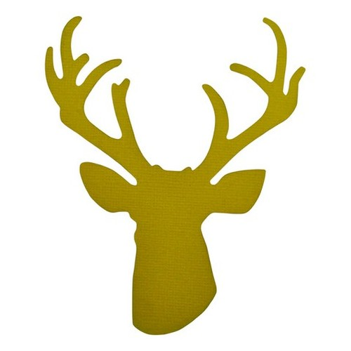 Sizzix Bigz Die - Stag's Head by Craft Asylum 660885 Craft Asylum ( 6-15 )