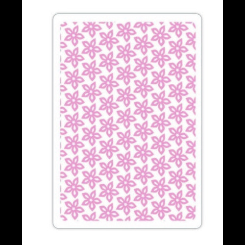 Sizzix Textured Impressions Embossing Folder - Floral Texture 660507 Craft Asylum ( 5-15 )