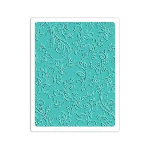 Sizzix Textured Impressions Plus Embossing Folder - Botanical 660579 Rachel Bright ( 6-15 )