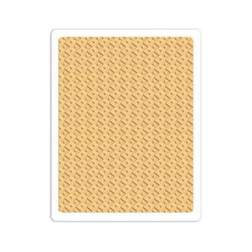 Sizzix Textured Impressions Plus Embossing Folder - Field of  660580 Rachel Bright ( 6-15 )