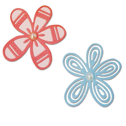 Sizzix Thinlits Die Set 2PK - Bountiful Botany 660480 Craft Asylum ( 6-15 )