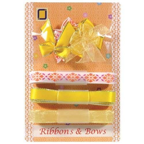 Ribbons & Bows Yellow
