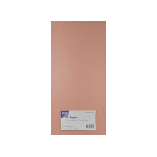 Joy! Crafts Metallic cardstock karton 20 vel 15x30 cm rose - 8013/0128