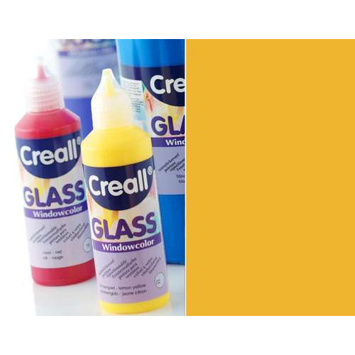 1 FL (1 FL) Glass - glasstickerverf oranje 80 ML