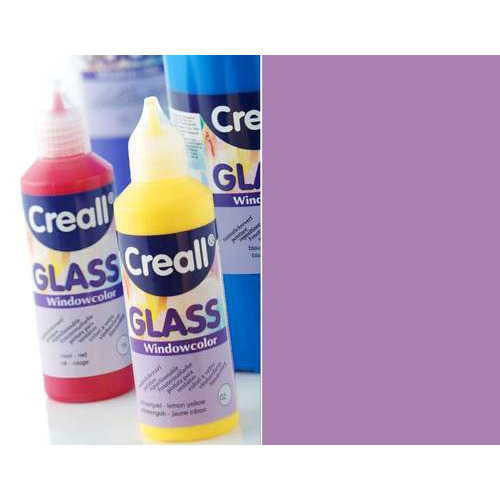1 FL (1 FL) Glass - glasstickerverf lila 80 ML