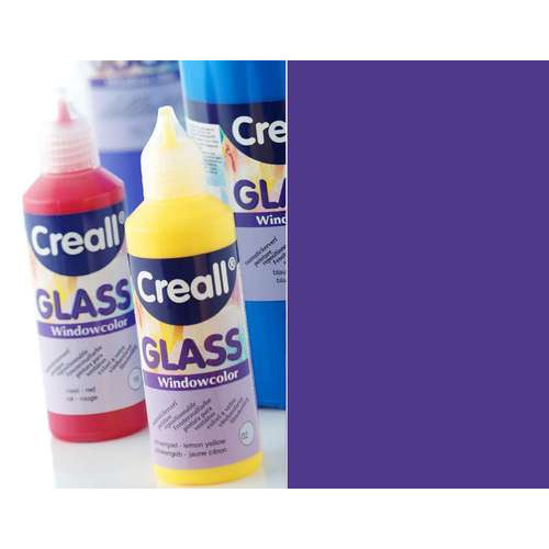 1 FL (1 FL) Glass - glasstickerverf violet 80 ML