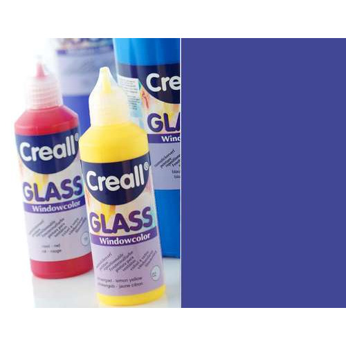 1 FL (1 FL) Glass - glasstickerverf blauw 80 ML