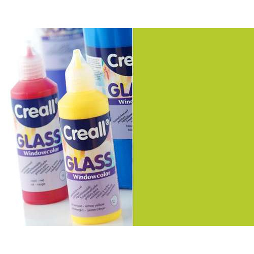 1 FL (1 FL) Glass - glasstickerverf lichtgroen 80 ML