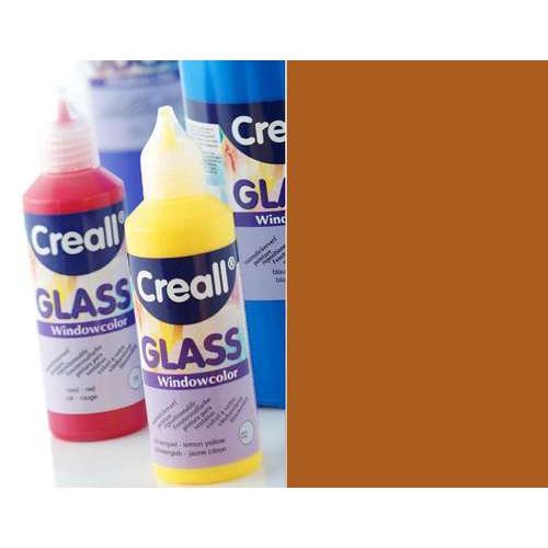 1 FL (1 FL) Glass - glasstickerverf bruin 80 ML