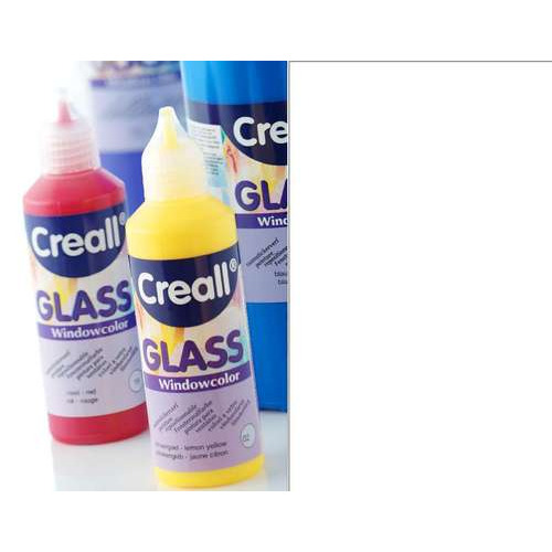1 FL (1 FL) Glass - glasstickerverf wit 80 ML