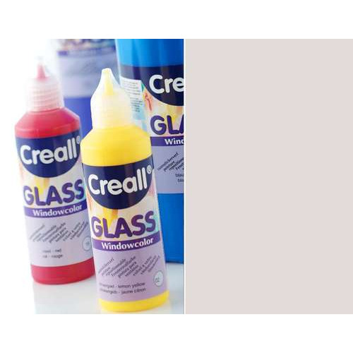 1 FL (1 FL) Glass - glasstickerverf zilver 80 ML