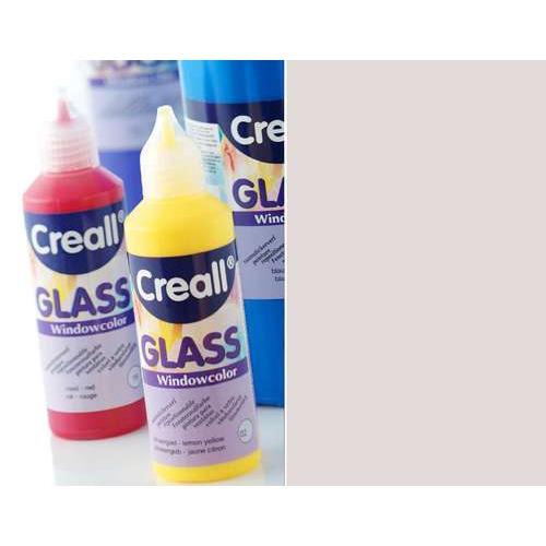 1 FL (1 FL) Glass - glasstickerverf zilver 80 ML