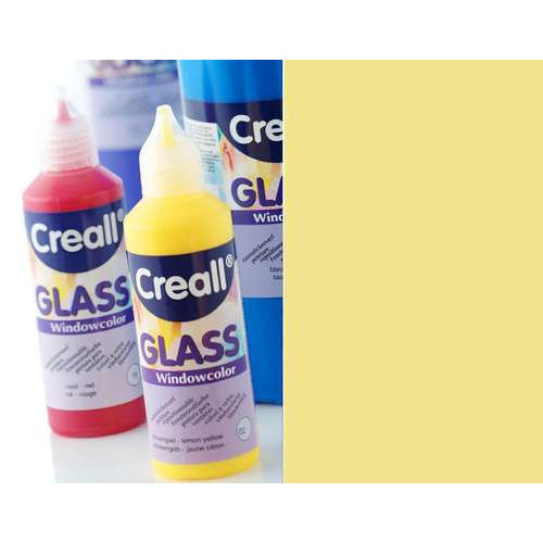 1 FL (1 FL) Glass - glasstickerverf goud 80 ML