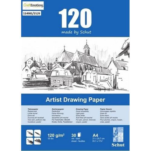 Schut Artist Drawing Paper  120 gram  A4